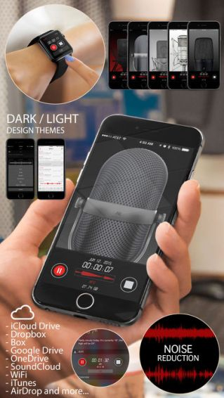 Awesome Voice Recorder Pro ios