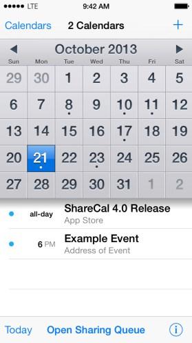 Easy Calendar ios