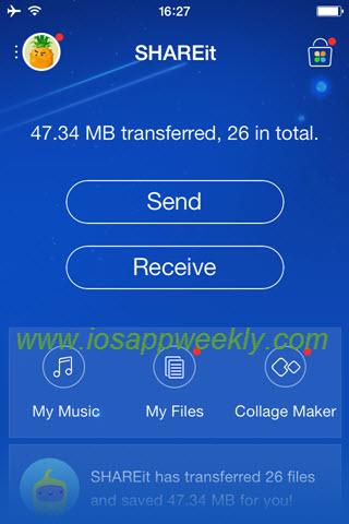 shareit app for iphone