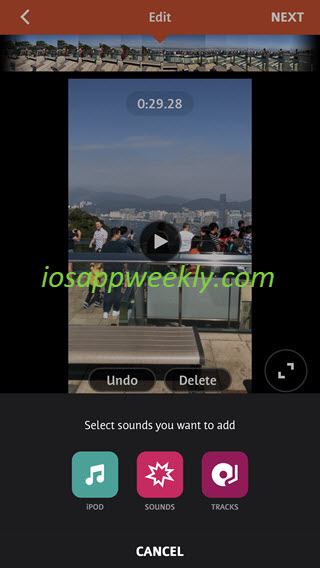 Add music to video on iPhone – iOS App Weekly