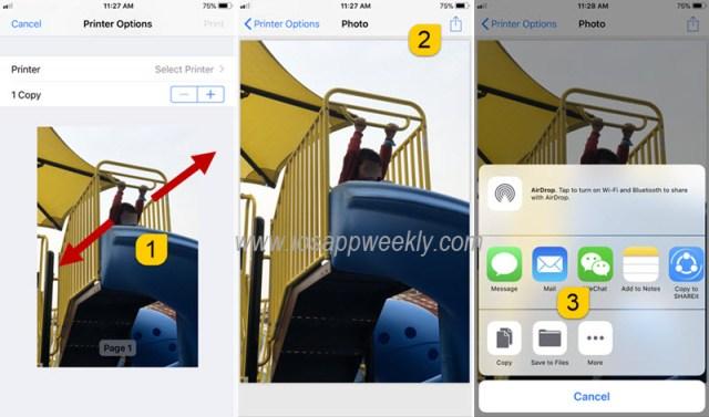 Convert Photos to PDF on iPhone X, 8, 8 Plus – iOS App Weekly