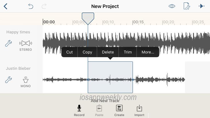 Hokusai Audio Editor – iOS App Weekly