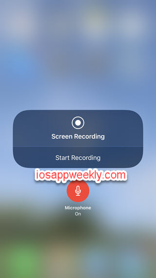 iphone screen and audio recording