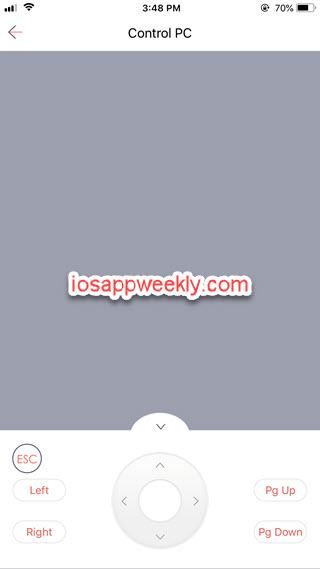 iPhone to control PC using Zapya app