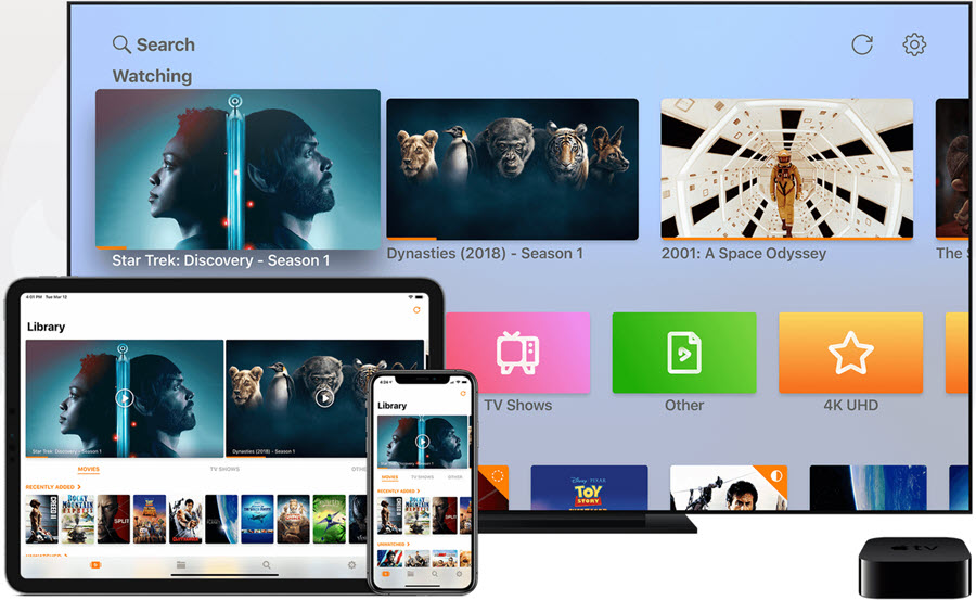 Infuse media player