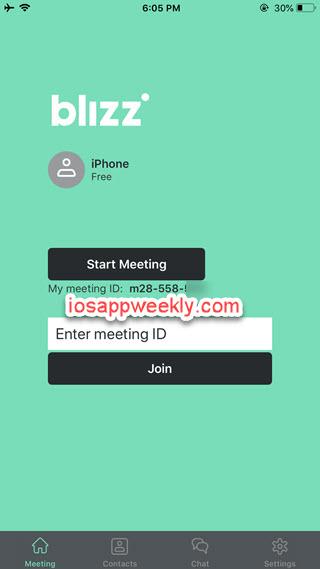 Blizz app for iPhone iPad