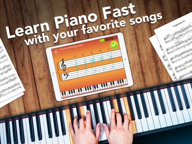 simply piano app for iPhone iPad by joytunes