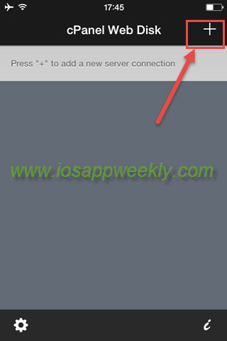 Manage files on your server from iPhone using cPanel Web