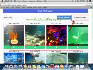 Transfer Photos and Videos from iPad to Mac via Wi-Fi for FREE