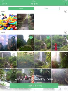 Transfer Photos and Videos from iPad to iPhone via Wi-Fi for FREE
