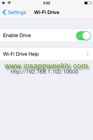 wi-fi drive PDF transfer tiny scanner iphone