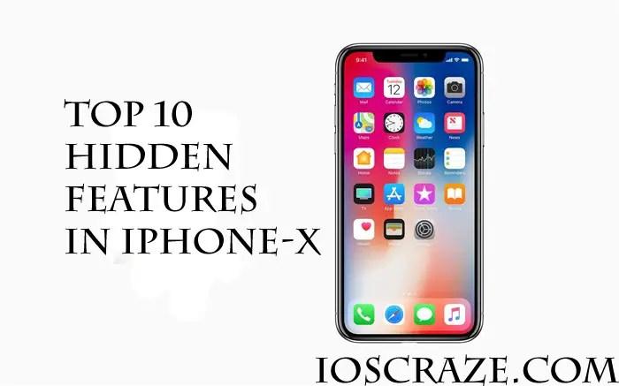 iPhone X hidden features