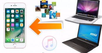 How to transfer Files from computer to the iPhone