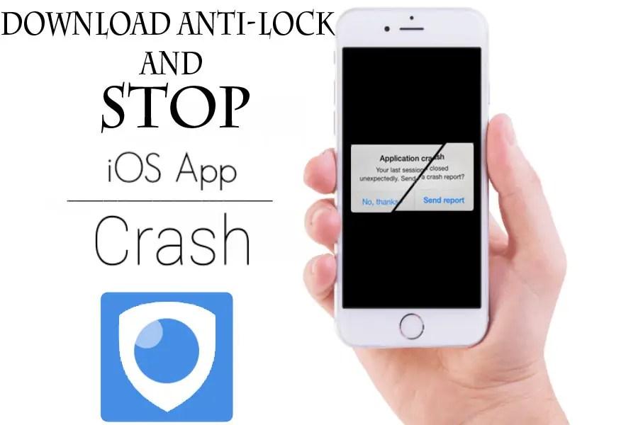 Anti lock for iOS