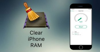 Clear ram memory