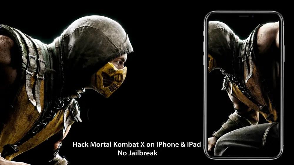 Mortal Kombat X hack on iOS