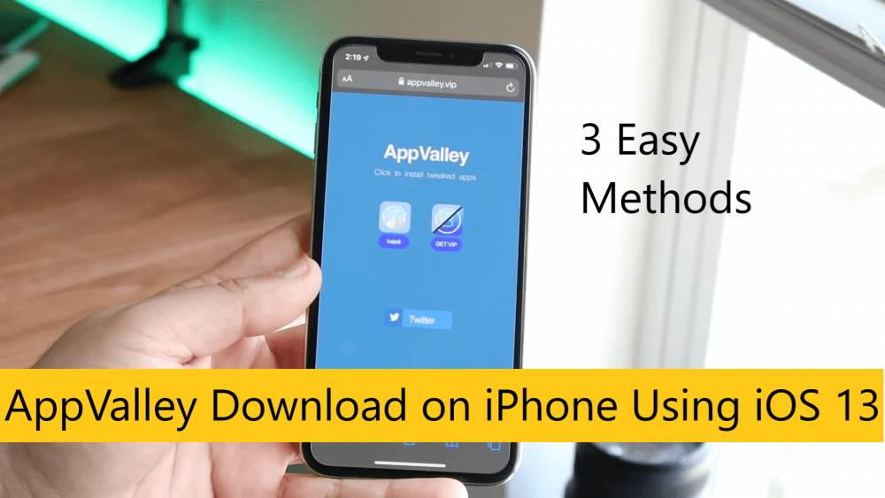 AppValley Download on iPhone