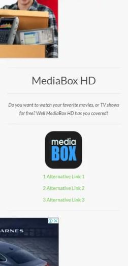 MediaBox HD For iPhone