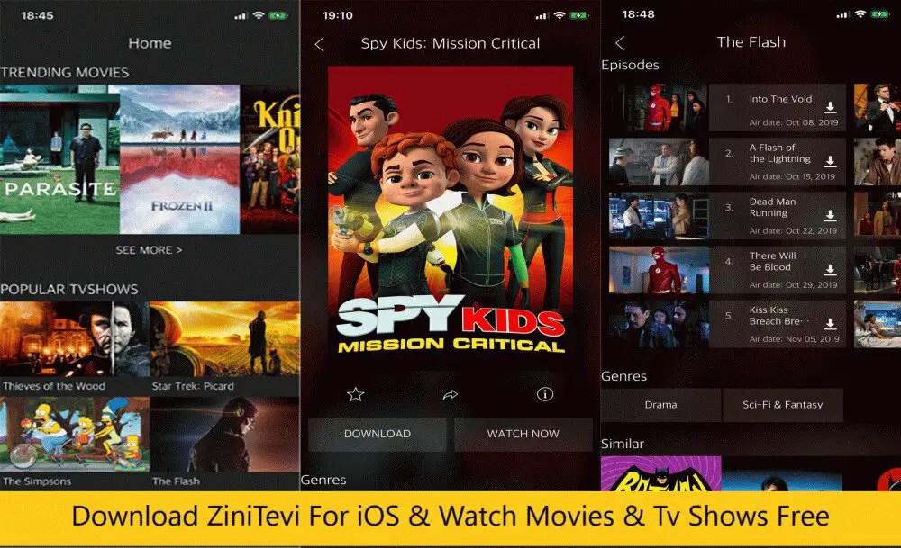 ZiniTevi iOS