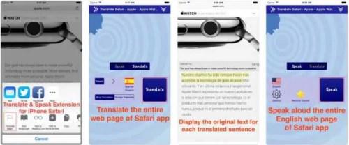 Translate for Safari - ioscraze