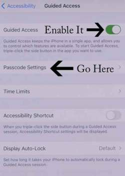 Lock Apps On iPhone