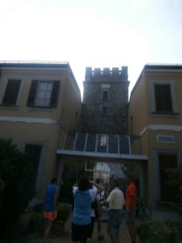 Entrata alla Casa Don Guanella