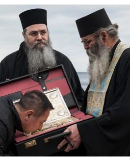 Εορτασμοί για τα 100 χρόνια από την απελευθέρωση του Αγίου Όρους.