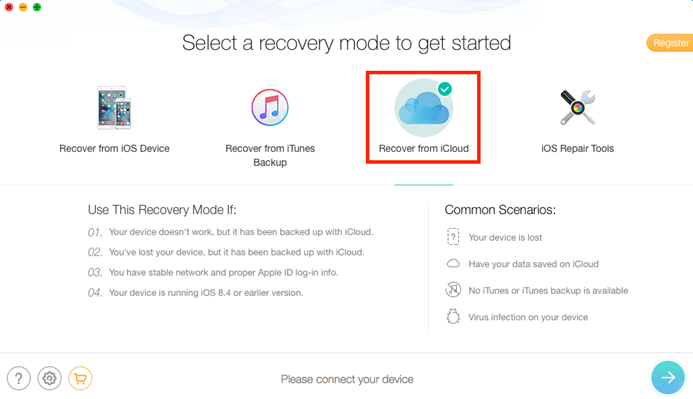 Access iCloud backup without iPhone