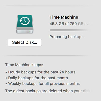 3 Solutions to Fix High Sierra Time Machine Stuck on