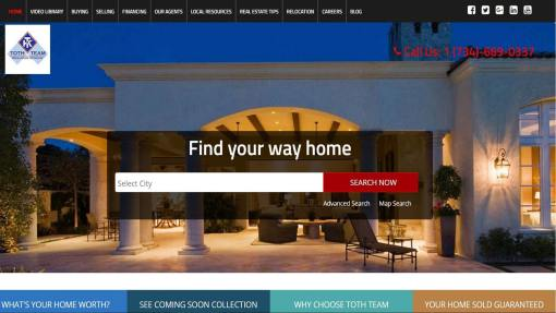 Website Design Real Estate Agency