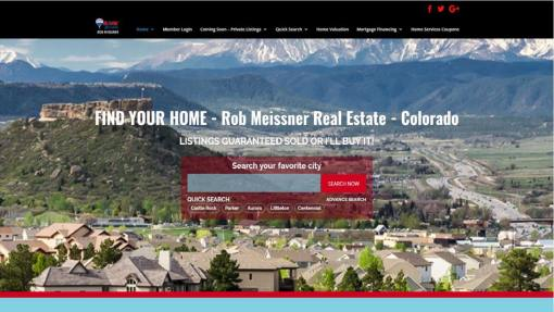 Website Design – Real Estate Agency