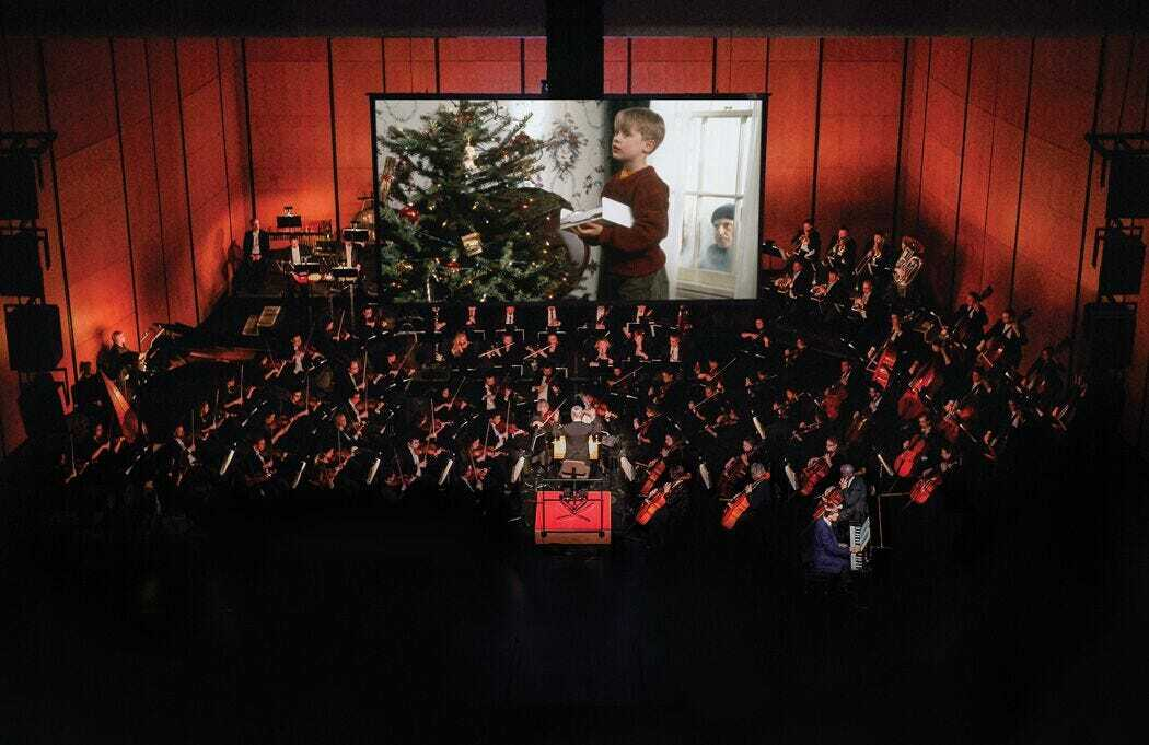 Home Alone With The Des Moines Symphony
