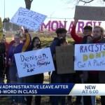 Iowa High School Students Protest Teacher Accused of Using Racial Slur