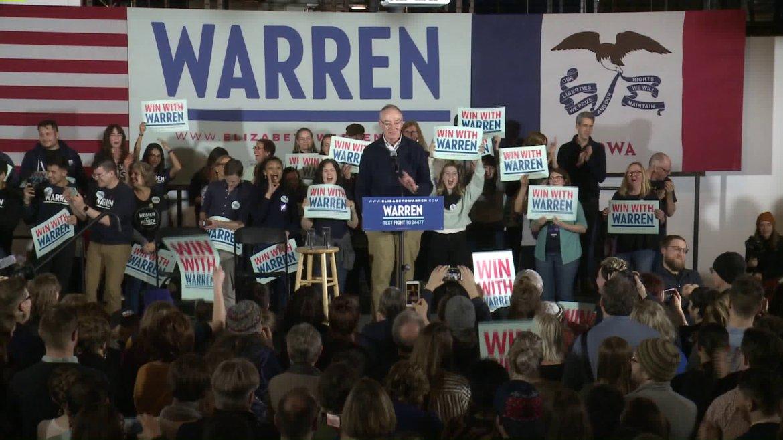 Elizabeth Warren Misses Des Moines Rally Due to Impeachment Trial