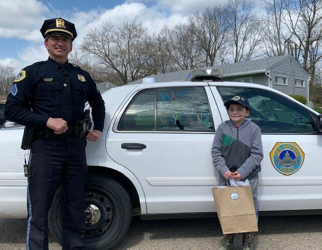$10k Donation Helping Des Moines Police Spread Joy