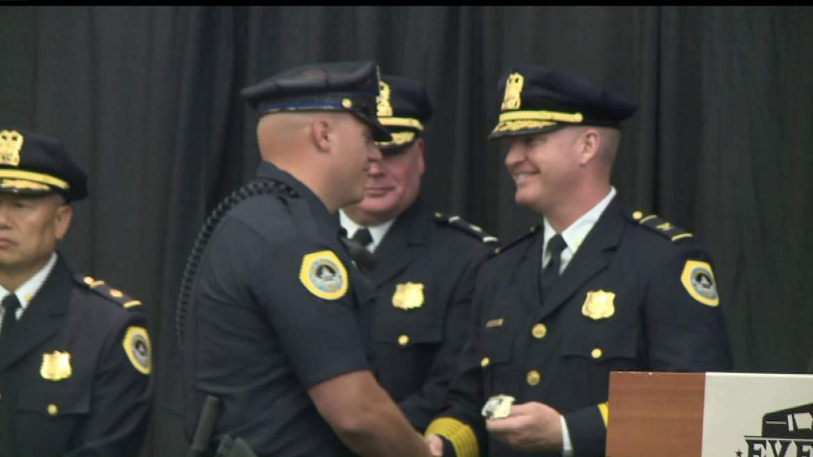 History-Making Promotion Ceremony at DMPD
