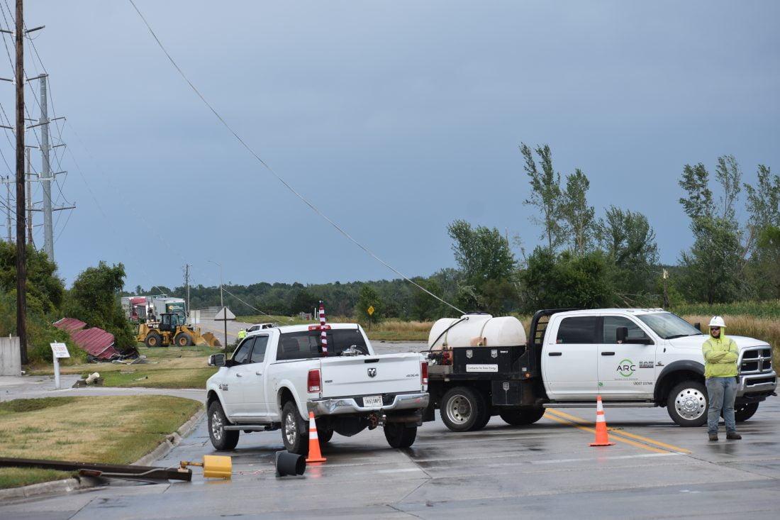 City officials see damage similar to 2018 tornado