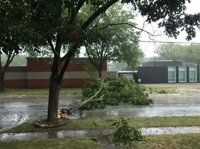 PHOTO GALLERY: Widespread Storm Damage Across Central Iowa 6