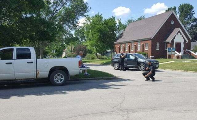 Pickup, SUV collide at Otley Avenue, Fifth Street Thursday 4