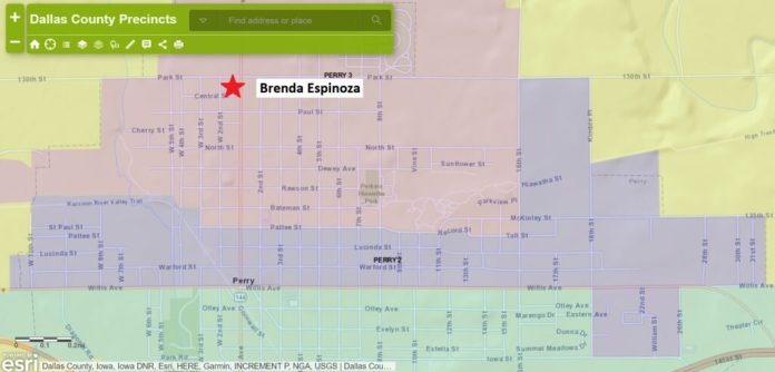 Espinoza's candidacy challenged as she lives outside second ward 1