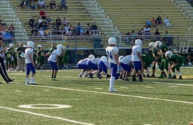 Perry middle school football season underway 3