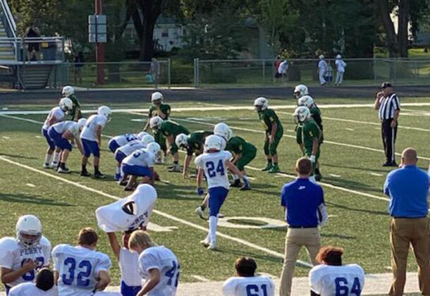 Perry middle school football season underway 2