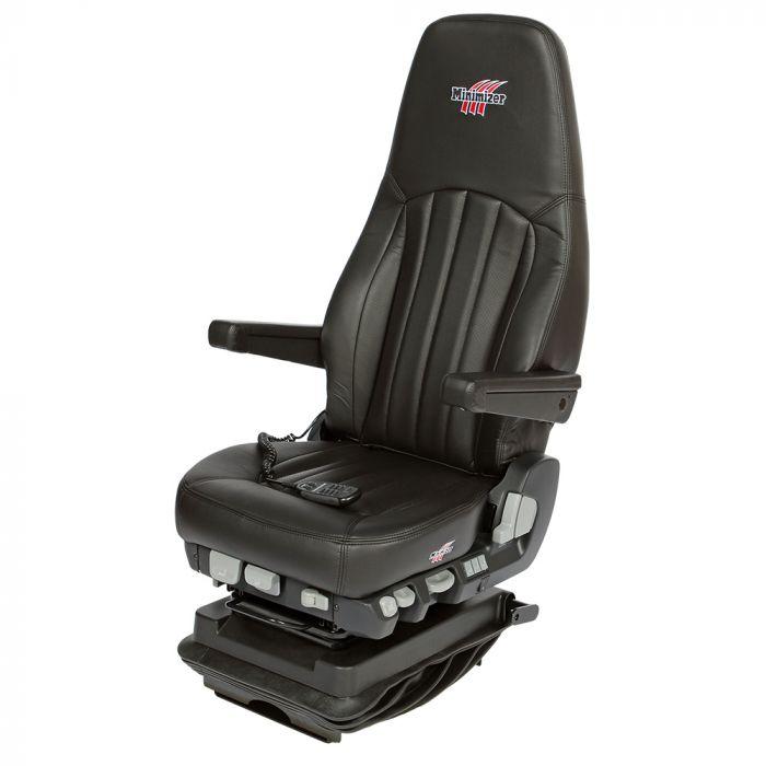 Long Haul Ultraleather Truck Seat Heat Massage