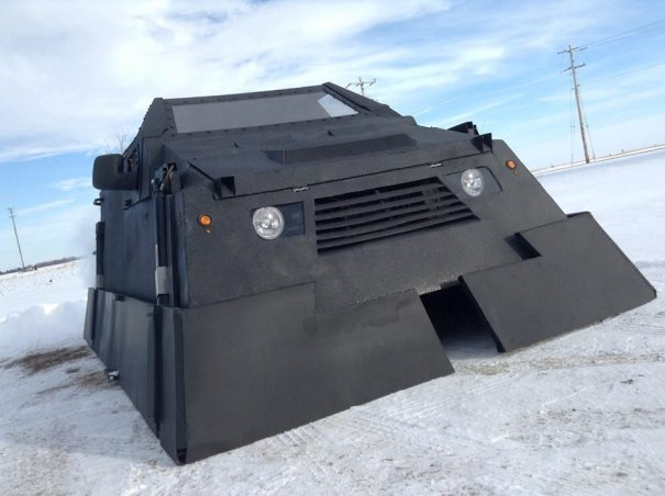 Dorothy Iowa Storm Chasing Network Armored Chase Vehicle