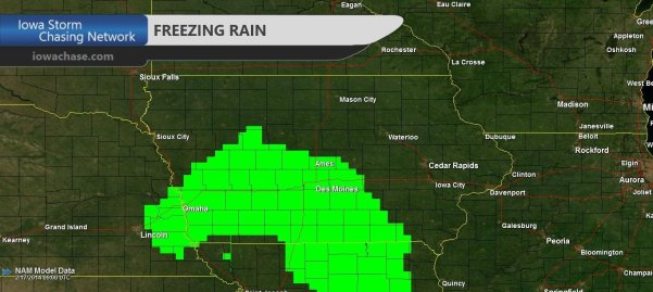 Freezing Rain Chance