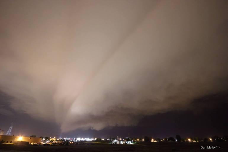 Shelf Cloud Des Moines Iowa