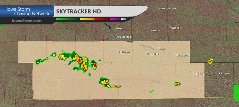 Iowa Funnel Clouds