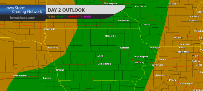 Iowa Day Two Convective Outlook