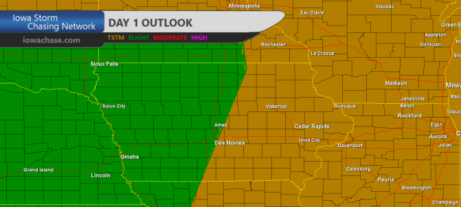 Iowa Day One Convective Outlook