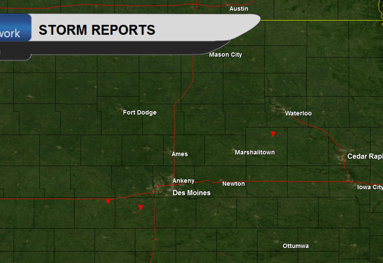 Iowa Tornado Reports